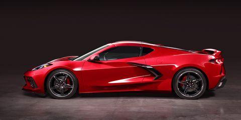 Land vehicle, Vehicle, Car, Sports car, Automotive design, Supercar, Red, Performance car, Coupé, Rim,
