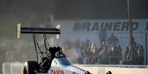 Steve Torrence ran the table in 2018, winning all six races in the NHRA Countdown to the Championship. Still, not a fan, though.