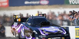 Not only did Jack Beckman defeat John Force in the final round at Maple Grove Raceway, he also took over the NHRA Mello Yello Drag Racing Series points lead.