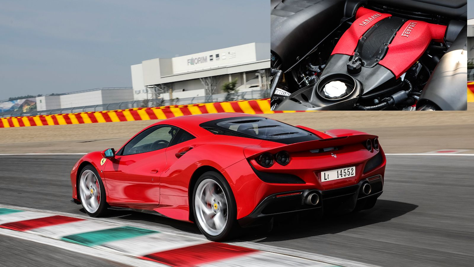 More About The Ferrari F8 Tributo 3 9 Liter Twin Turbocharged V8