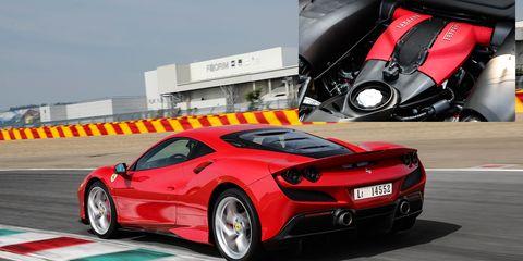 The Ferrari F8 Tributo comes with the company's 3.9-liter V8 (codenamed F154) making 710 hp.