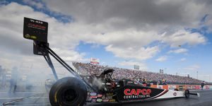 Billy Torrence claimed his second victory in the playoffs, going 3.775 seconds at 319.67 mph.