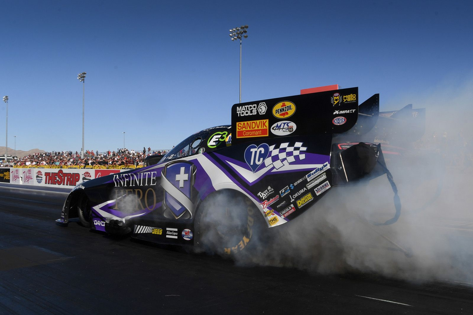 NHRA Vegas Nationals: Saturday qualifying results, Sunday elimination matchups