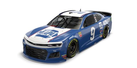 Chase Elliott will drive a paint scheme similar to the one driven by 'Awesome Bill' back in 1981.