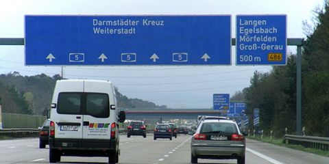 Some formerly unlimited sections of the Autobahn are now restricted because of the intense heat wave hitting Europe.