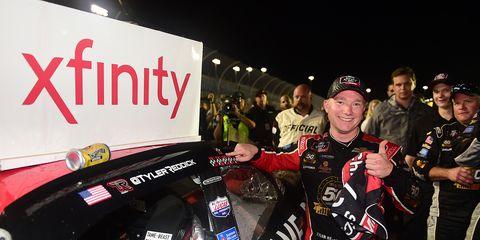 Tyler Reddick won his second consecutive NASCAR Xfinity title Saturday.