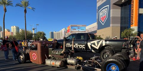 Check out this, uhh, drag truck, I think.