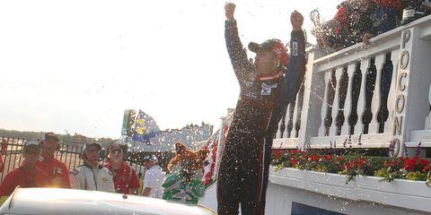 Ty Majeskialso won last week at Charlotte Motor Speedway.