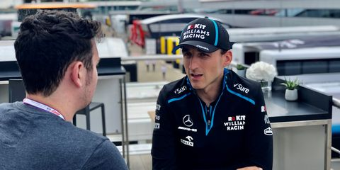 Robert Kubica is nine races into his F1 comeback after last racing in the series in 2010.