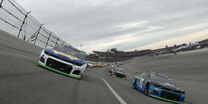 """<span id=""""CT_Main_1_cache_lblCaption"""">Chase Elliott and Alex Bowman lead the field during Monster Energy NASCAR Cup Series 1000Bulbs.com 500 at Talladega.</span>"""