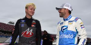 Tyler Ankrum and Ross Chastain left Talladega Superspeedway just barely below the Championship Race cutline.