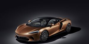 The new McLaren GT, which replaces the 570 GT