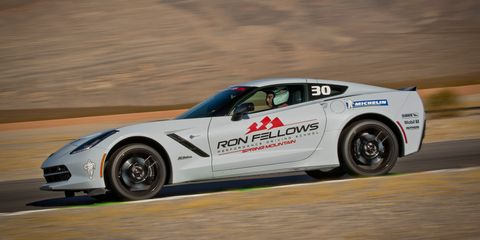 IMS president Doug Boles takes on the challenge and fun of the Ron Fellows Performance Driving School.
