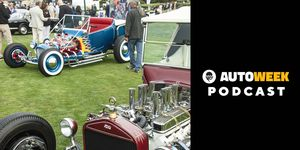 """The """"Cover Car"""" class at Pebble Beach was one of Wesley's favorite parts of the Concours d'Elegance."""
