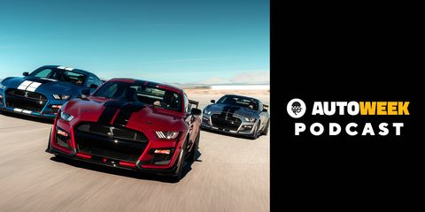 The Ford Mustang Shelby GT500 might be a mouthful, but is it also a handful? Tune in below to find out.