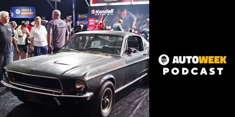 """Sean Kiernanjoins the """"AutoweekPodcast"""" to talk about the upcoming Mecum auction in Kissimmee, Florida, his time with the car and why he is deciding to let go of the car."""