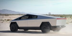 Tesla's Cybertruckis all angles and edges.