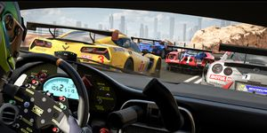 The virtual world is getting closer to the real world of racing.
