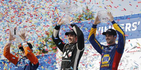"""By re-signing with Andretti Autosport, Alexander Rossi has preserved its place in IndyCar's""""Big Three"""" with Penske and Ganassi."""