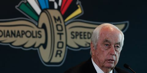 Roger Penskeadded the Indianapolis Motor Speedway and the NTT IndyCar Series to his stable of businesses on Monday.