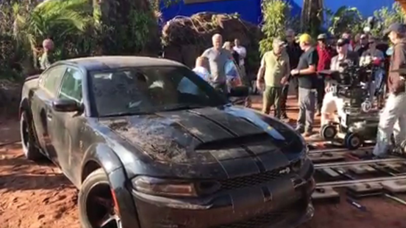 Fast 9 Will Feature A Customized Dodge Charger Srt Hellcat Widebody In London