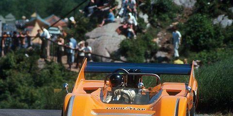 "Past Formula1 champion Mika Häkkinen will drive the 1970 McLaren M8D/3 ""Batmobile"" at the Rolex Monterey Motorsports Reunion Aug.17-18 at WeatherTech Raceway Laguna Seca in Monterey, California."