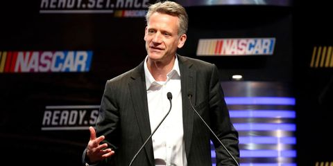 NASCAR president Steve Phelps fielded questions via a state of the sport media roundtable on Friday in Daytona Beach.