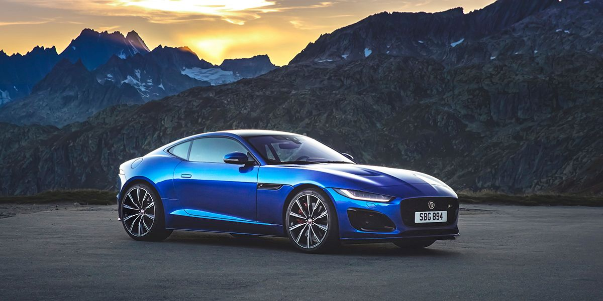 The Jaguar F-Type Flaunts a New Face but Still Burbles and Coughs