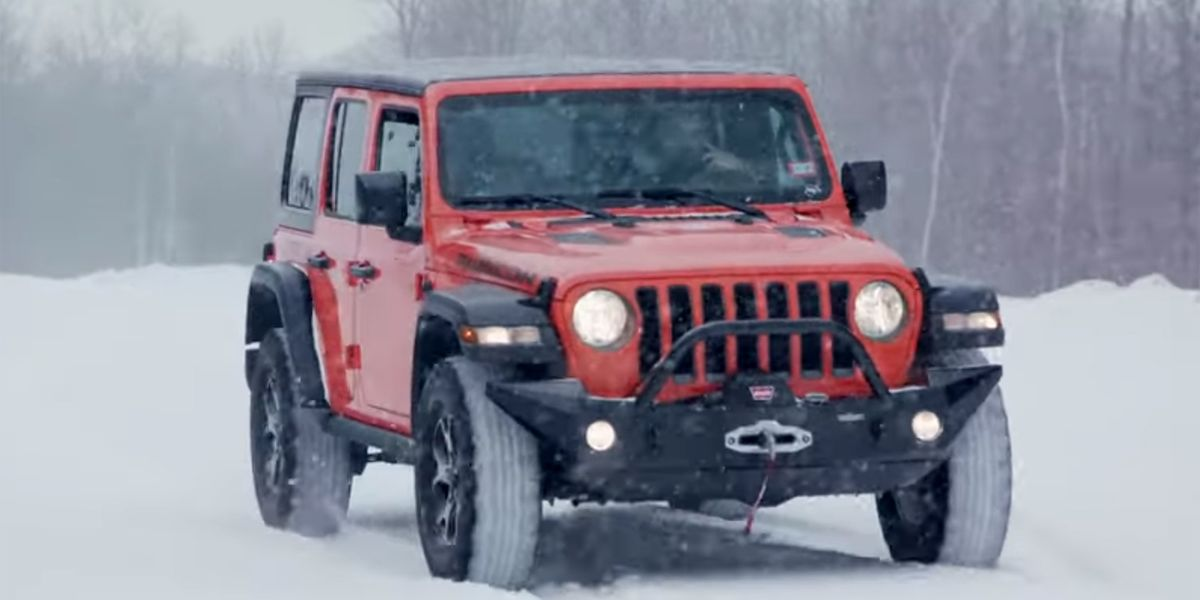 Can you rally a Jeep Wrangler? Team O'Neil Rally School finds out