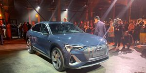 The Audi E-tron Sportback was one of the off-site reveals that surrounded the official LA Auto Show events.