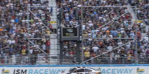 Denny Hamlin led a race-high 143 laps Sunday.