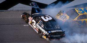 Dale Earnhardt was killed in a crash in the Daytona 500 in 2001.