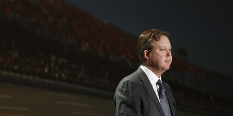 Brian France is eligible for a reduced sentence upon the completion of community service.