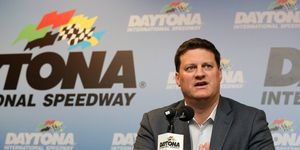 NASCAR executive Steve O'Donnell will speak to Bubba Wallace about his postrace actions at Charlotte.