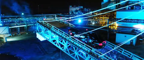Blue, Light, Lighting, Night, Technology, Architecture, Stage, Electric blue, City, Metropolis,