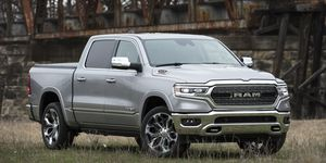 The 2020 Ram 1500 EcoDiesel'sV6 engine is built in Italy.