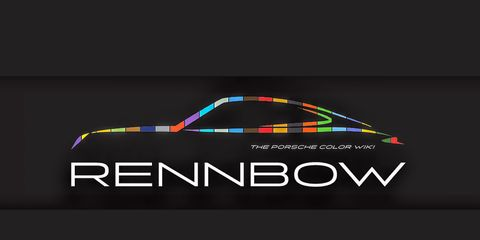 Rennbow is a searchable database of Porsche colors from the past.