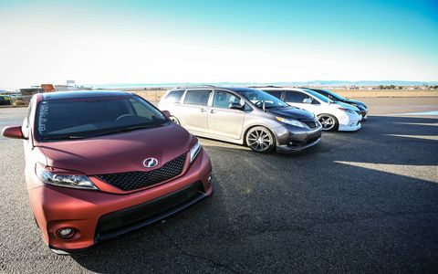 Toyota Sienna R-Tuned and S-Tuned Concepts