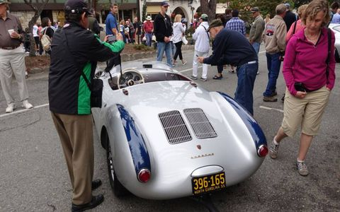 The Monterey auto week kicked off Tuesday with the Concours-on-the-Avenue in Carmel.