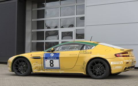 Rose, as it's known, was Aston Martin's entry in the 2006 Nurburgring 24 hour race