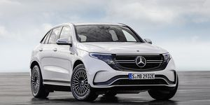 The EQC 400 will be the first battery-electric Mercedes model to go on sale, as part of the EQ range.