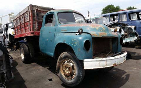 A working truck is always useful, even when it's close to 70 years old. The lack of cheap Studebaker parts is the likely culprit in the forced retirement of this one.