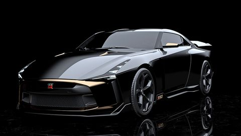 Nissan and Italdesign collaborated on this special prototype and design exercise, with an engine retuned by NISMO.