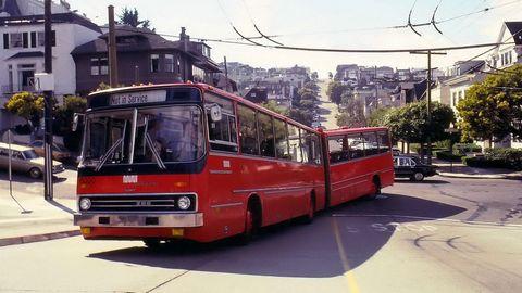 Ikarus 286 in San Francisco.