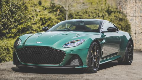 "Aston Martin's Q division will produce just 24 examples of the ""DBS 59"" coupes."