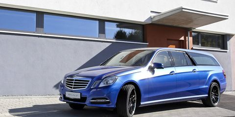 The updated Binz Xtend is based on the refreshed Mercedes-Benz E-class wagon.