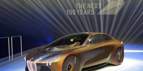 On its 100th birthday, BMW unveiled the Vision Next 100 concept -- a vehicle incorporating many of the technologies and that the automaker believes will shape the way we drive in the coming century. Will any of it actually happen? Time will tell.