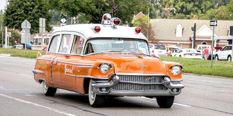 Cadillac Universal ambulance.