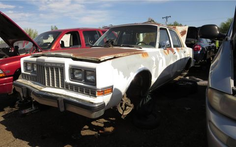 """One of the very last """"traditional"""" rear-wheel-drive Plymouths."""