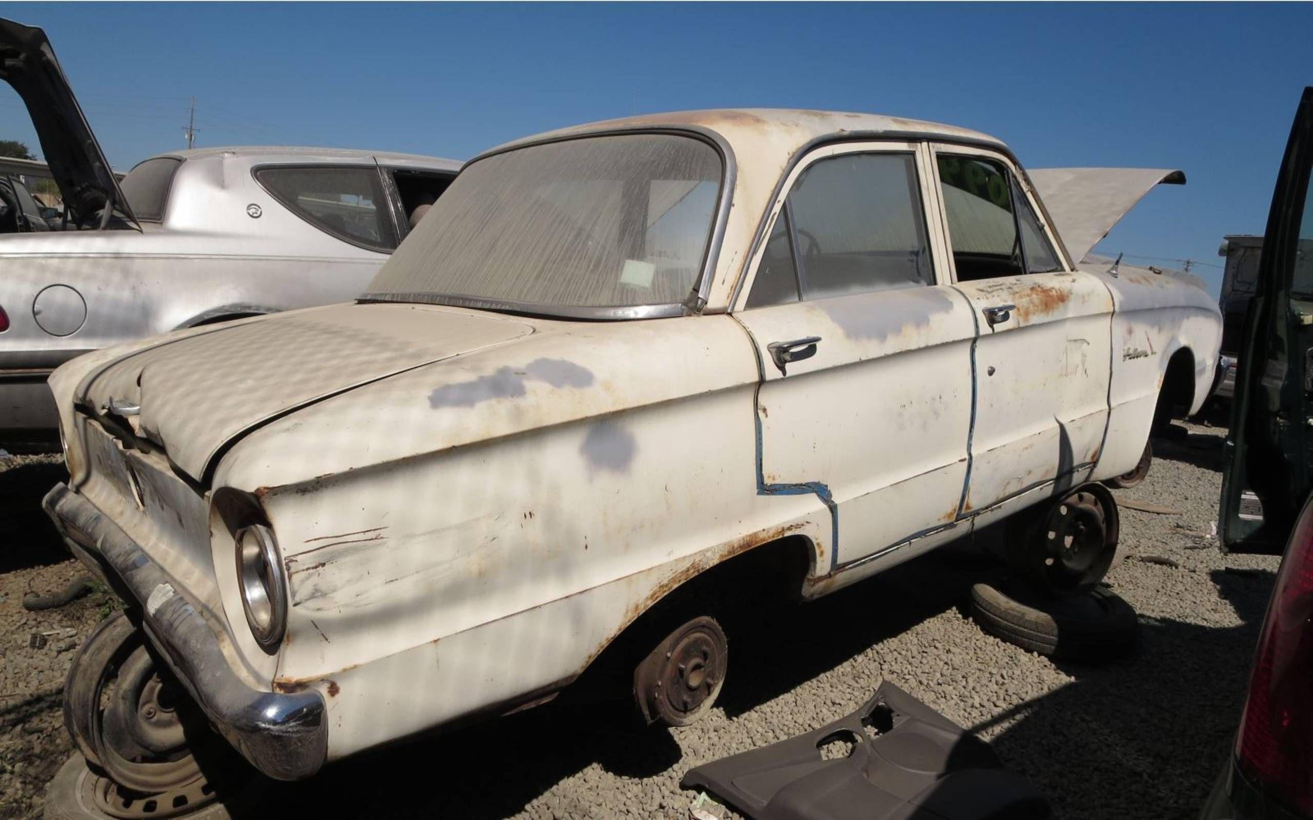 Junkyard Treasure 1960 Ford Falcon Sedan